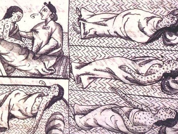 images of native people suffering from smallpox