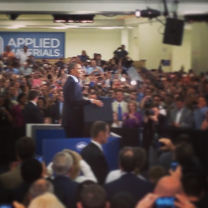 Obama at Applied Materials.